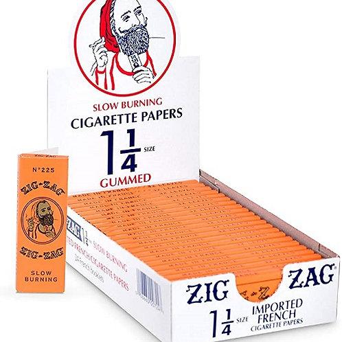 ZIG ZAG Orange Leaves (per pack)