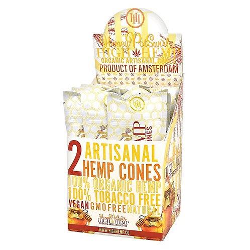 High Hemp %100 Tobacco Free Honey Pot Swirl (per pack)