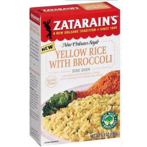 Zatarain's Yellow Rice w/Broccoli