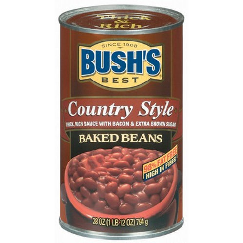 Bush Country Style Baked Beans (28oz)