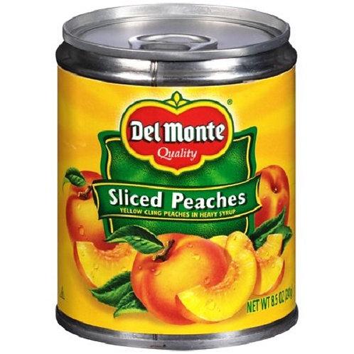 Del Monte Sliced Peaches (8.5oz)