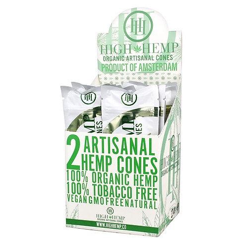 High Hemp 100% Tobacco Free Cones (per pack)