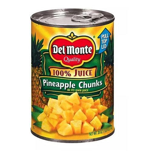 Del Monte Pineapple Chuncks (20oz)