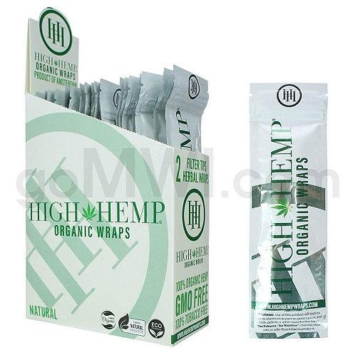 High Hemp %100 Tobacco Free Wraps