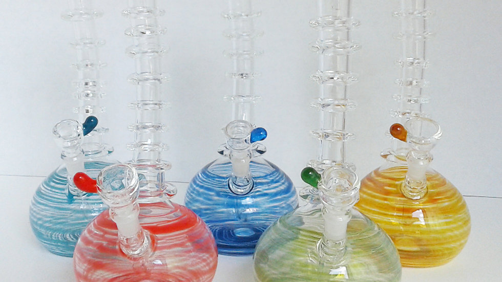 Colored Spine Chiller Bubbler/Rig
