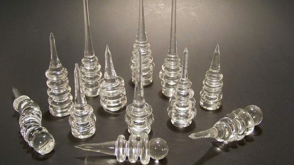 Solid Clear Dabbers