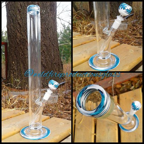 "Blue Ice 18"" Straight Tube"