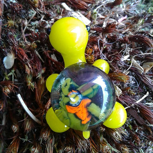 Terrapin Turtle Pendant