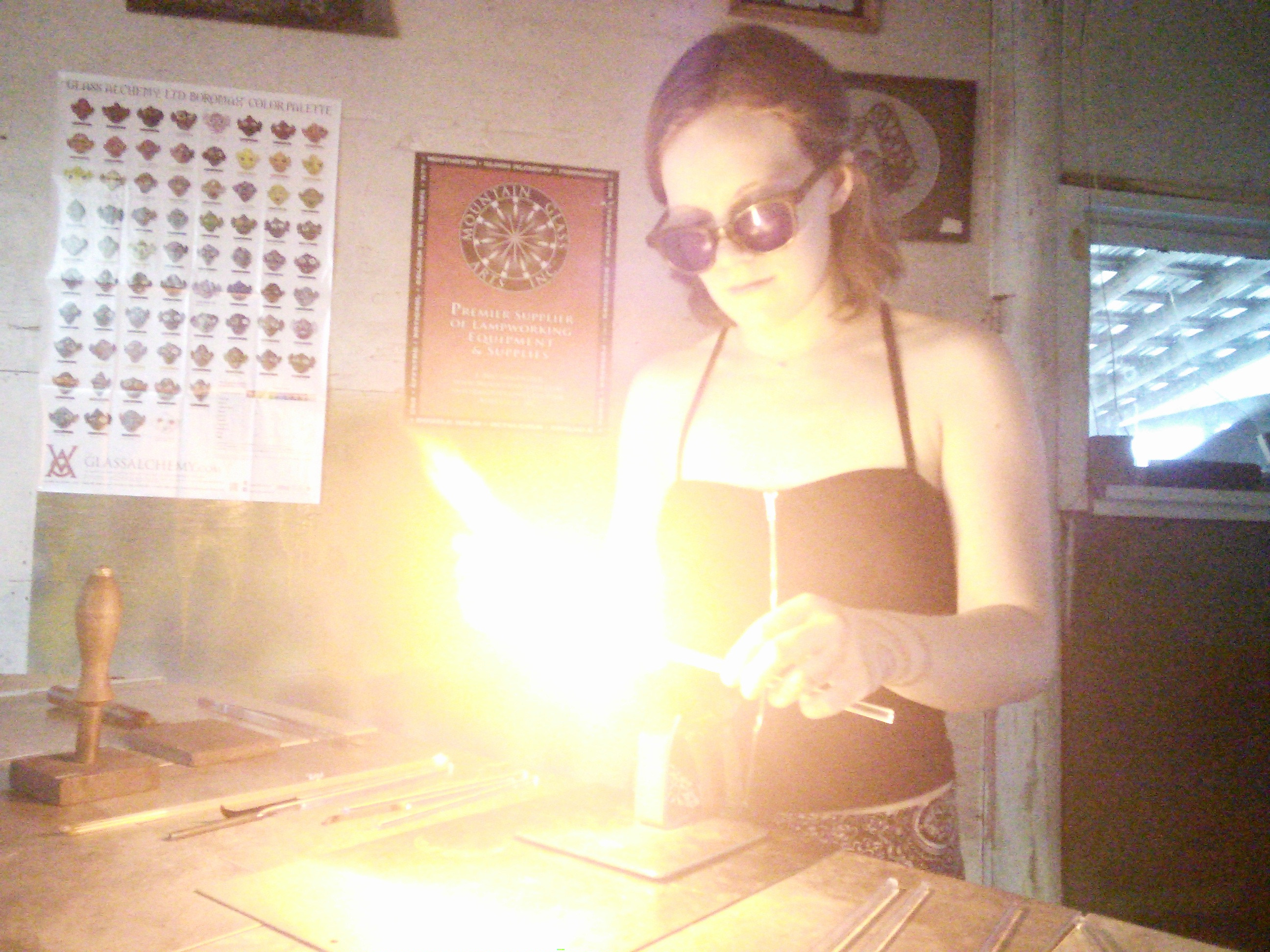 Lampworking Tools and Safety
