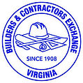 Builders & Contractors Exchange Logo (VA