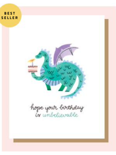 Greeting Card - Unbelievable Birthday