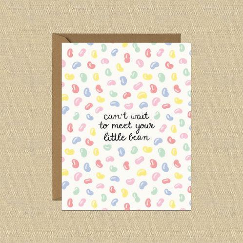 Greeting Card - Little Bean