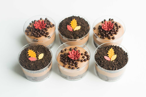 Chocolate Mousse Cups (Set of 2)