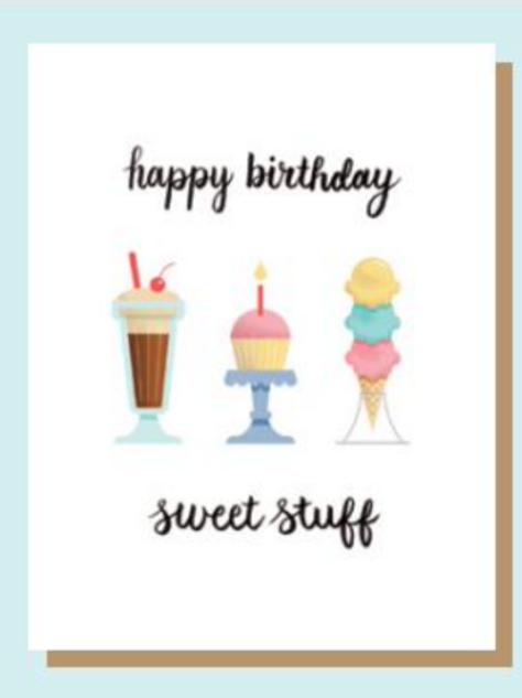 Greeting Card - HBD Sweet Stuff
