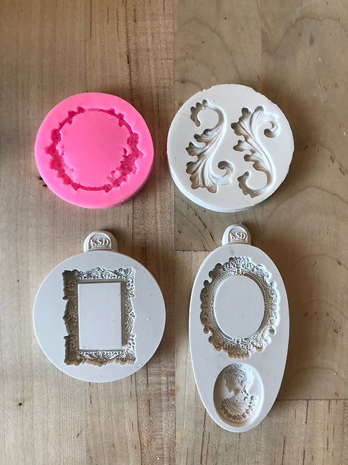 Fancy Frames Silicone Molds