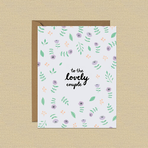 Greeting Card - Lovely Couple