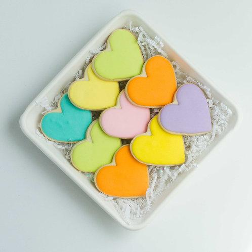 Colorful Sugar Cookie Platter (9 pieces)
