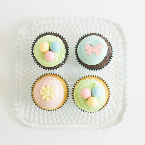 Easter Cupcakes (Set of 4)