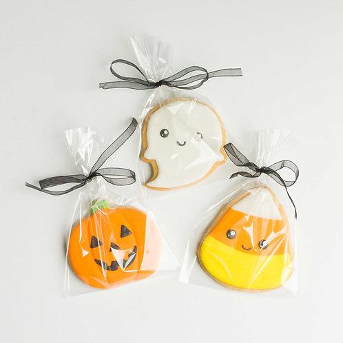 Single Halloween Sugar Cookies