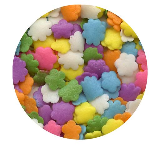 Celebakes Pastel Flower Sequins (5 oz)