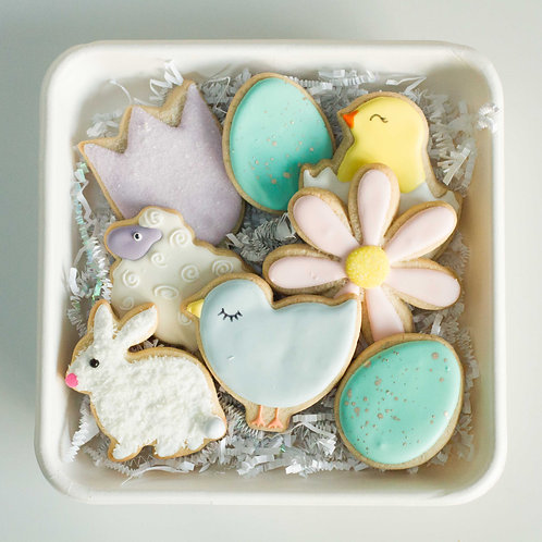 Mini Easter Sugar Cookie Platter (8 pieces)