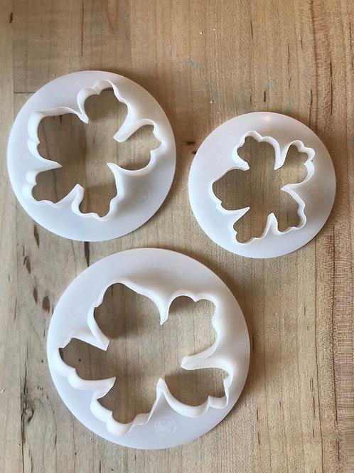 Flower cutters (set of 3)