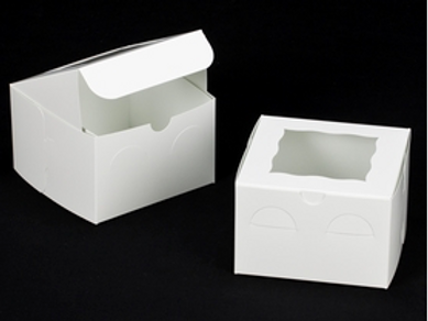 6x6x4 Snack Cake Boxes (10 Count)