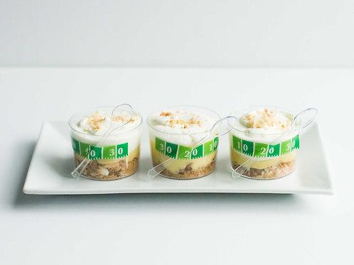 Banana Cream Pie Jars (Set of 2)