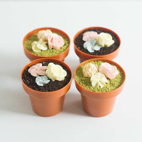 Terracotta Dessert Cups (Set of 4)