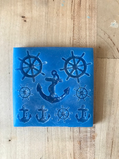 Nautical themed Silicone Mold