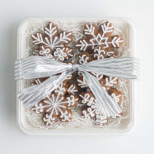 Gingerbread Snowflakes Cookie Plate (Set of 8)