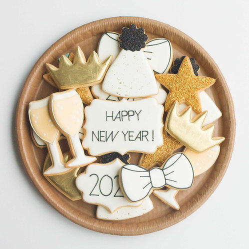 2021 Sugar Cookie Platter (Set of 15)
