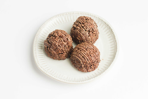 Double Chocolate Coconut Macaroons (Set of 2)