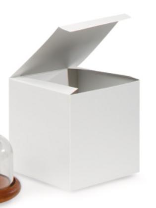 6x6x6 White Cake Boxes (25 Count)