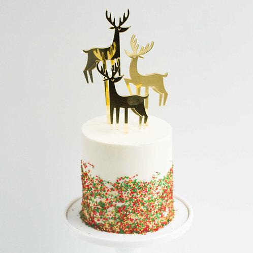 """Christmas Cake (4"""", 5"""" or 6"""")"""