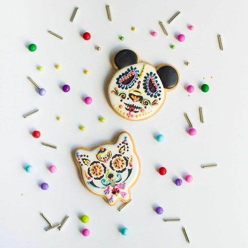 Single Sugar Skull Cookies