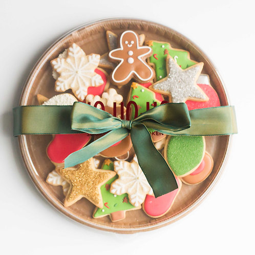 Christmas Sugar Cookie Platter (Set of 16)