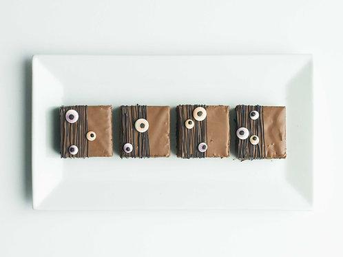 Eyeball-studded Brownies (Set of 2)