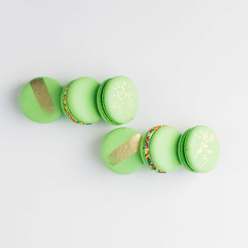 St. Paddy's French Macarons (Set of 6)