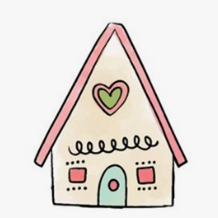 DECORATING KIT - Gingerbread House