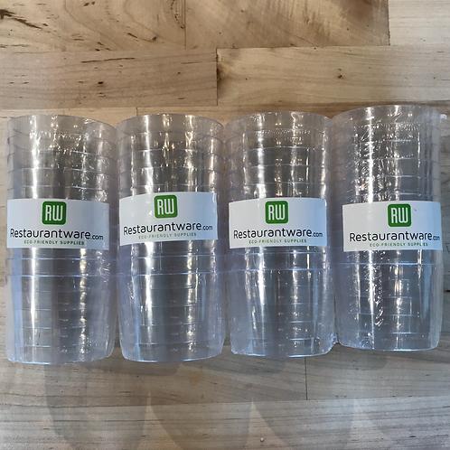 6oz Plastic Dessert Jars (Set of 40)