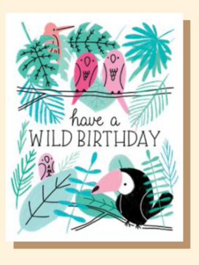 Greeting Card - Wild Birthday