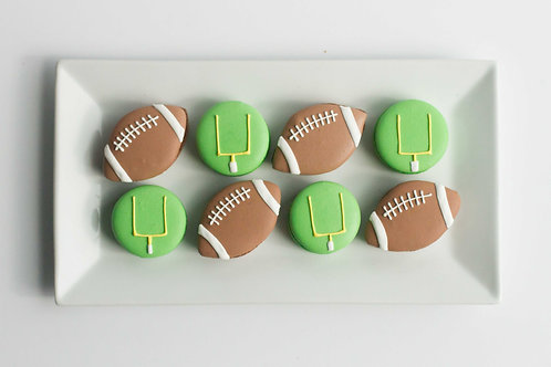 Super Bowl French Macarons (Set of 6)