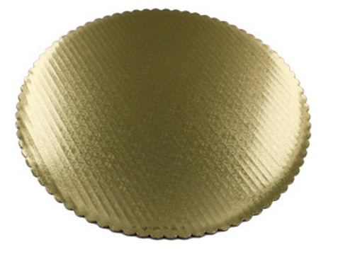 """8"""" Gold Cake Boards (5 Count)"""