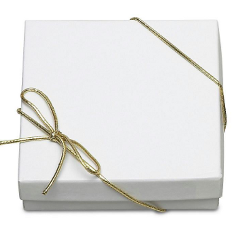 """Gold Stretch Loops (for small gift box) - 10"""" (50 Count)"""