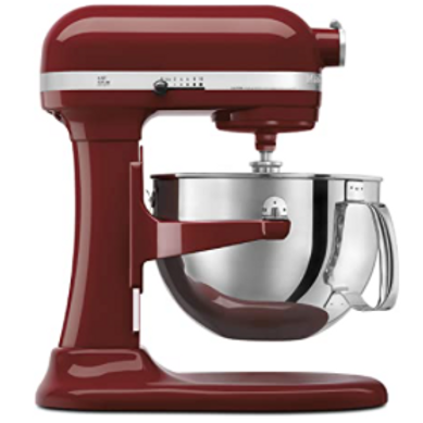 6-Quart KitchenAid Mixer (Cinnamon Red)