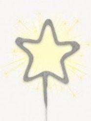Star Sparkler Candle