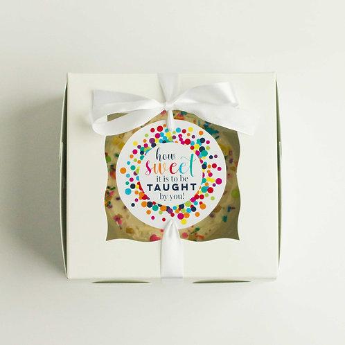 Teacher's Funfetti Snack Cake (Serves 2-3)