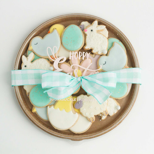 Easter Sugar Cookie Plate (16 pieces)
