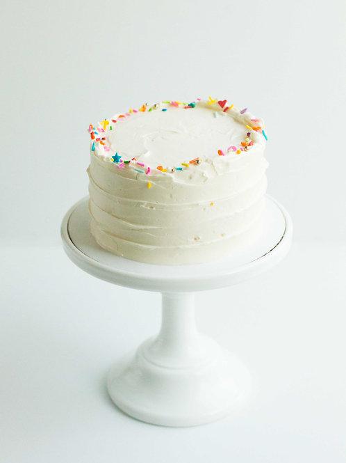 Funfetti Snack Cake (Serves 2-3)